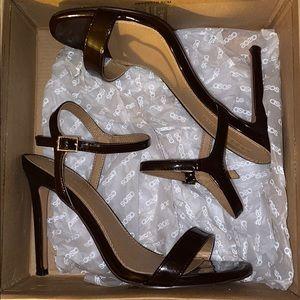Espresso Brown heels.